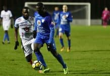 Jeffrey Quarshie se plait à Sablé, le leader du National 3 Pays de la Loire.
